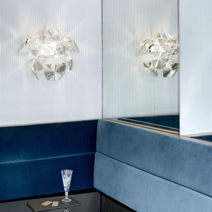Hope, la collezione di Luceplan composta da lenti in fresnel che moltiplicano e valorizzano i riflessi di luce.