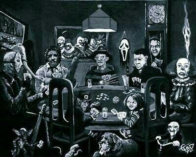 62 best horror collage images on pinterest horror films