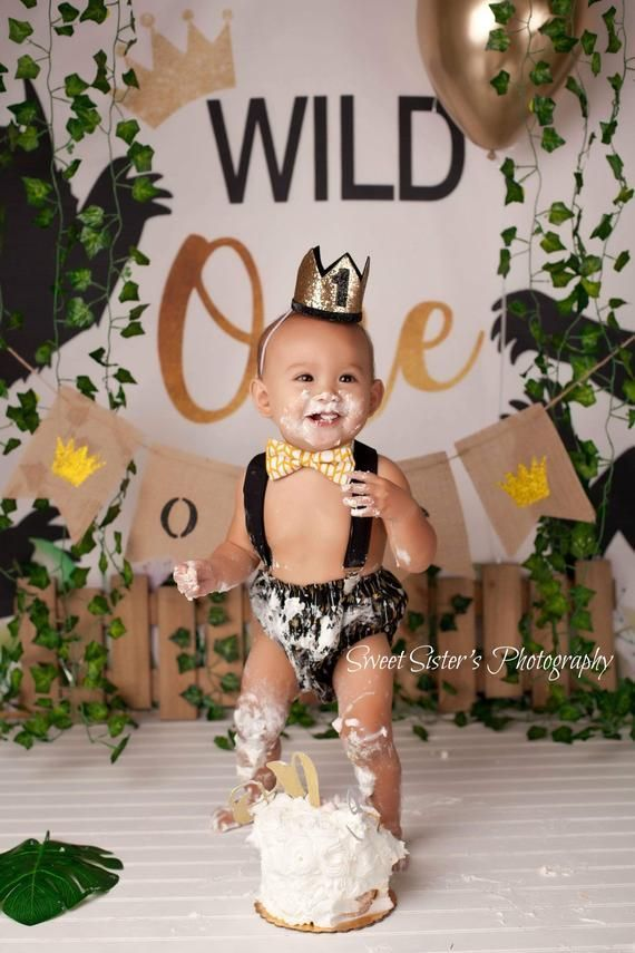 King Of The Wild Things Outfit Wild One Cake Smash Outfit Etsy Boys Birthday Outfits Cake Smash Outfit Boy 1st Boy Birthday