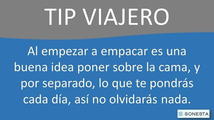 planear para viajar #tipviajero @sonestabtahotel