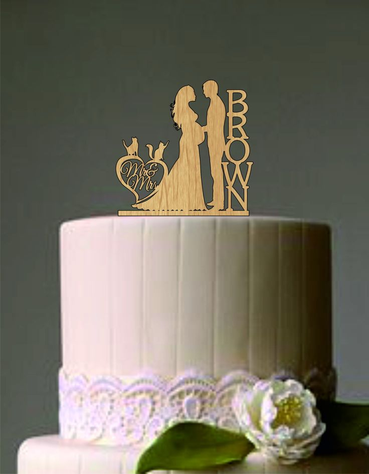 Pregnant Wedding Cake Topper