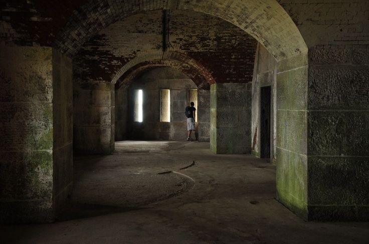 Take a self-guided ghost tour of greater Boston's most haunted places, starting at Fort Warren in the Boston Harbor Islands.