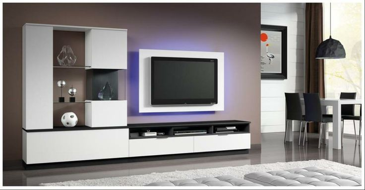 44 best tv wall console ideas images on pinterest tv - Mueble tv minimalista ...