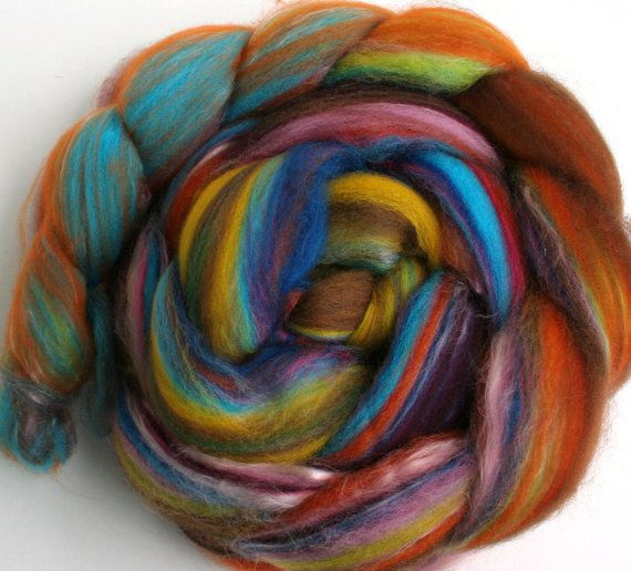 Hand pulled rovingPulled Roving, Art Fiber, Wool Roving, Crafty Inspiration, Hands Pulled, Fiber Art, Duvar Kilimleri, Knits, Handspun Yarns