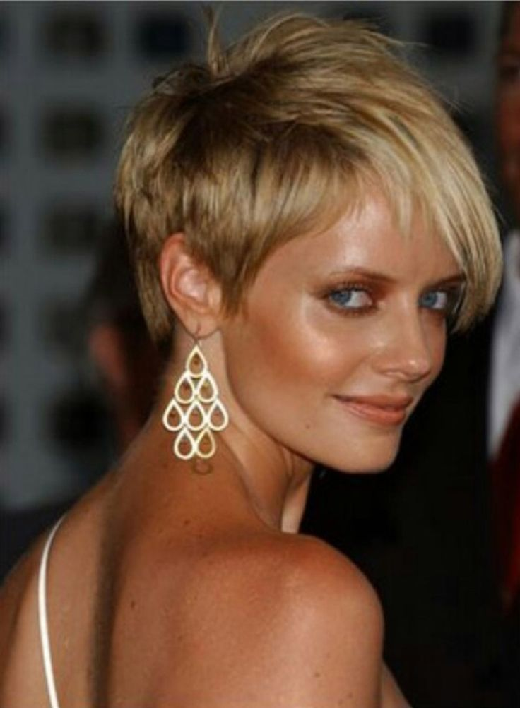 Very Short Edgy Hairstyles   2014 Short Hairstyles for Women with ...