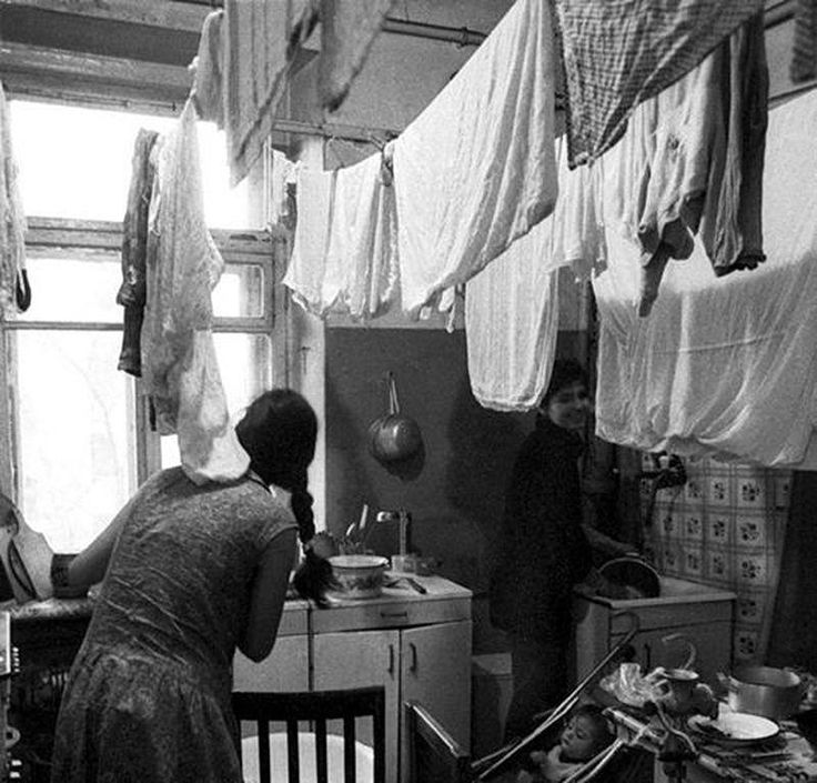 RUSSIAN APARTMENT WITH LAUNDRY