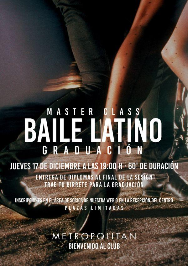 Master Class de Baile Latino en Metropolitan Abascal.