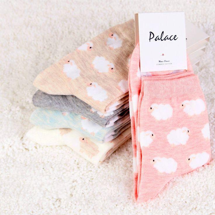 Automne/hiver Chinois style national de moutons de bande dessinée femme chaussettes femelle tout le coton épais chaussettes dans Chaussettes de Femmes de Vêtements et Accessoires sur AliExpress.com | Alibaba Group