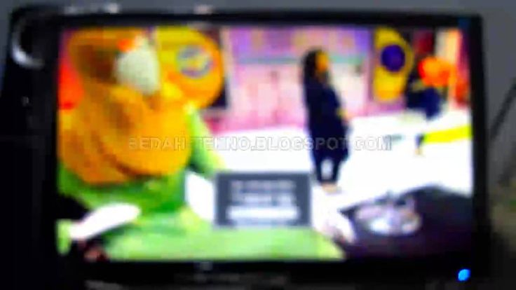 Cara Mudah Menggunakan TV Tuner (Antena Dalam)