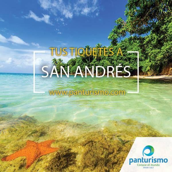 Compra tus tiquetes en www.panturismo.com y cierra este 2015 con una merecidas vacaciones en San Andrés.