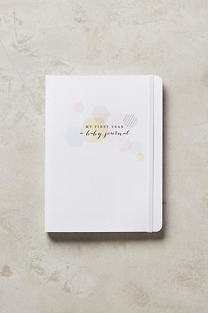 My First Year: A Baby Journal - anthropologie.com