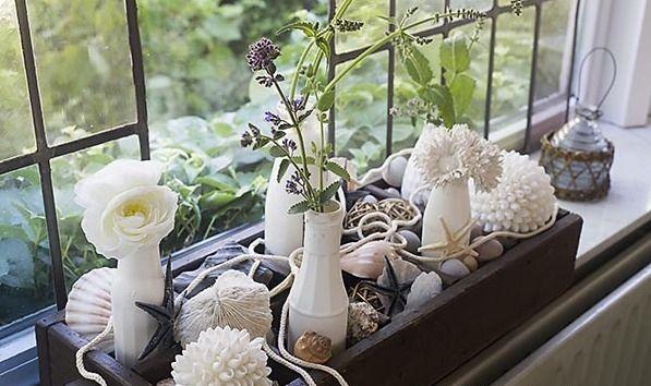 33 Schon Deko Ideen Fur Schmale Fensterbanke Fensterbank Dekorieren