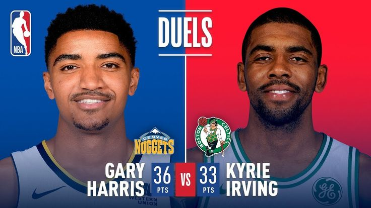 Kyrie Irving (33 Pts) and Gary Harris (36 Pts) Duel in Boston | December 13, 2017 - NBA News Videos