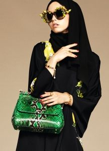 Exclusive: The Dolce & Gabbana Abaya Collection Debut - - Exclusive: The Dolce & Gabbana Abaya Collection Debut -