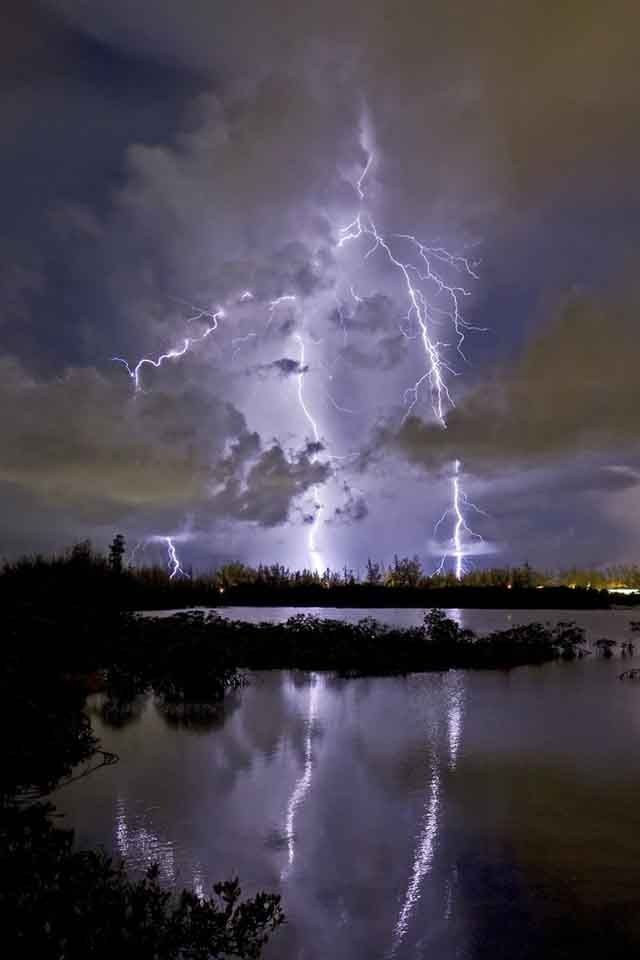 Lightning - photographer not listed