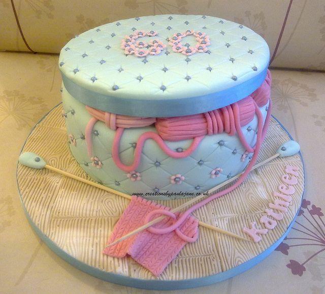 Cake Art Creations By Jane : 17 Best images about KNITTING - YARN Cooking! Cakes ...
