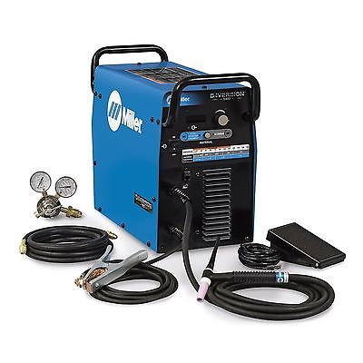 Miller Diversion 180 AC/DC TIG Welder Complete - 907627 - https://dealpursue.com/miller-diversion-180-acdc-tig-welder-complete-907627/ Save $447.00 – Miller Diversion 180 AC/DC TIG Welder Complete – 907627. List: $2337.00. Price: $1890.00 (You Save 19%)