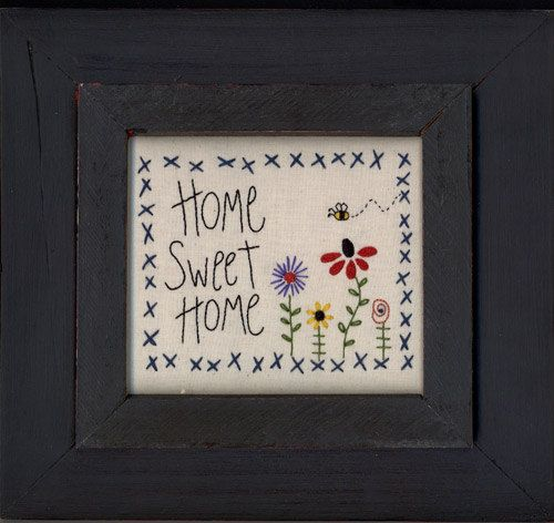 Home Sweet Home Pattern by Mac- A- Doodles