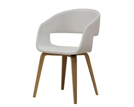 Stuhl »Nova« (weiß)  Dänischer Bettenlager
