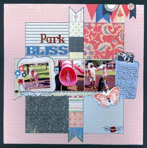 Park Bliss. Layout by Deanna13
