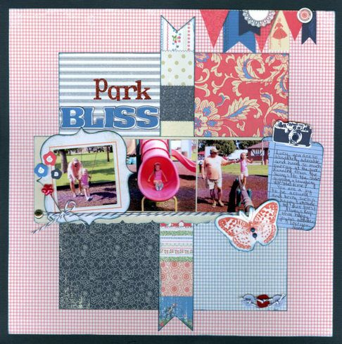 Park Bliss. Layout by Deanna13