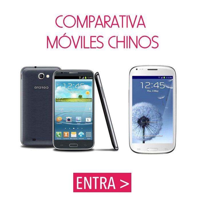 """12 móviles """"made in china"""" buenos, bonitos y baratos. #ofertas #moviles #chinos"""