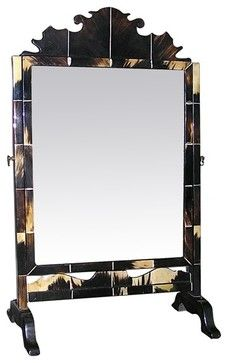 mirror on a stand vanity. Vintage Horn Vanity Mirror on Tabletop Stand floor mirrors 47 best Mirrors and stand ideas images Pinterest