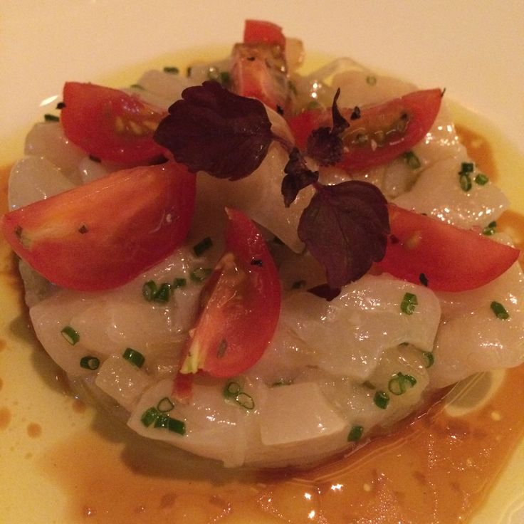 Tartare of Hokkaido scallops
