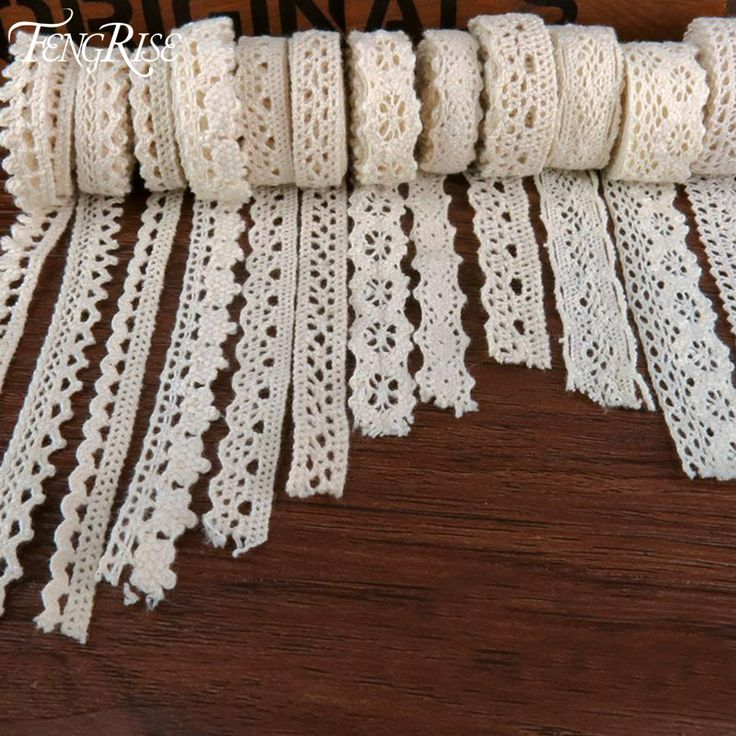 Apparel Sewing Fabric 5Yards DIY Ivory Cream Trim Cotton Crocheted Lace Fabric Ribbon Handmade Accessories Craft -  http://mixre.com/apparel-sewing-fabric-5yards-diy-ivory-cream-trim-cotton-crocheted-lace-fabric-ribbon-handmade-accessories-craft/  #Lace