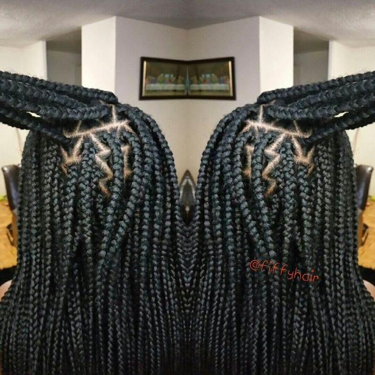 Box Braids by FiffyHair. For more photos follow @fiffyhair on Instagram