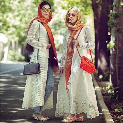 tehran-modest-street-style- Iranian women fashion trend