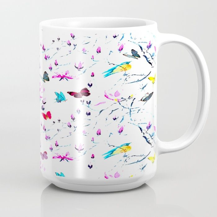 Butterflies Forest Mug #sarfacedesign #computer #stationerycards #iphone #ipad #laptop #tshirts #tank #longsleeve #bikertank #hoodies #leggings #throwpillow #rectangularpillows #towel #beach #hand #face #body