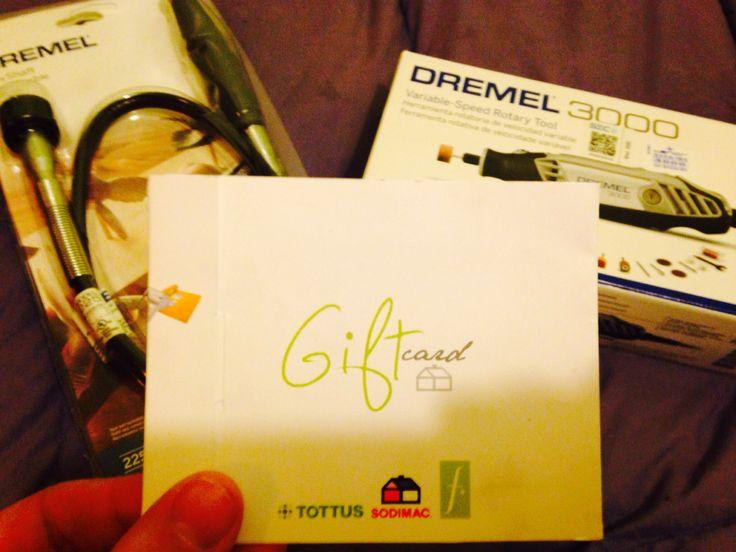 Gracias a @Homecenter Sodimac   por la gift card!!!! Hoy fui a cobrarlo por herramientas para arreglar mi hogar!!
