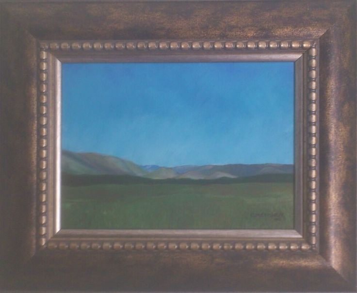 First Oil Painting - Christiaan Combrink 2012