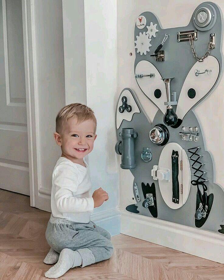 your son is so very cute Jensen in 2021 | Busy board baby ...
