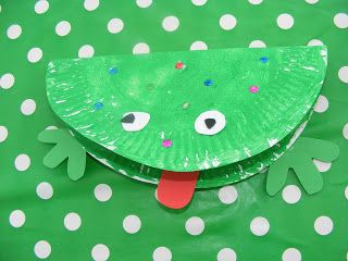 Paper Plate Craft Frogs! Toddler CraftsPreschool ... & 16 best Paper plate crafts images on Pinterest | Paper plates ...