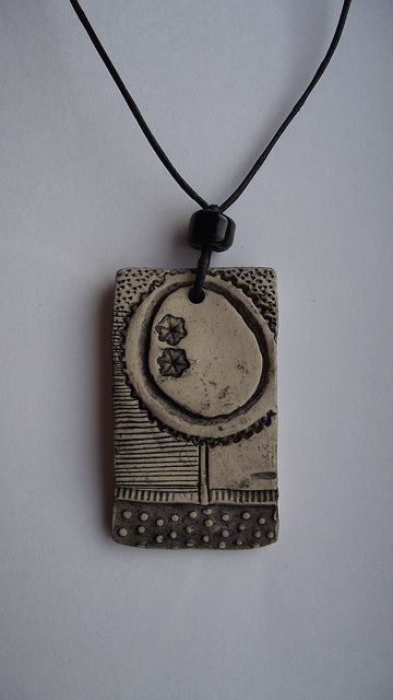 clay necklace--could be a fundraiser