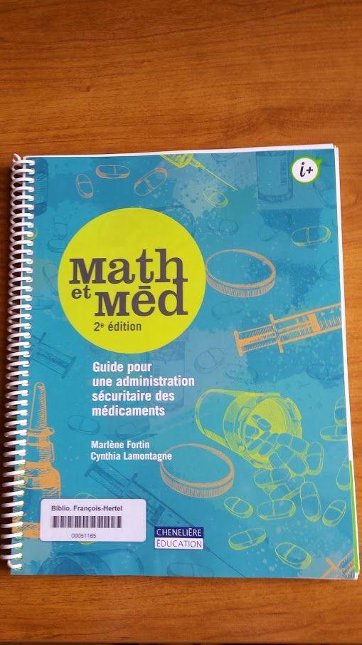 Math et med Bientôt à la biblio [ QV18 F742m 2015 ]