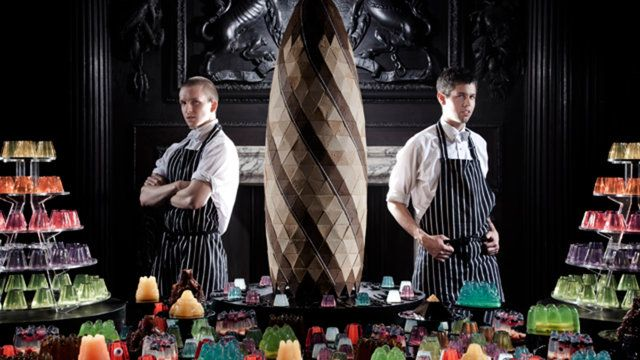 Taking the term to whole new levels, the British food and design consultancy duo Sam Bompas and Harry Parr has breathed new, refreshingly artifical, and entertaining life into what is known as