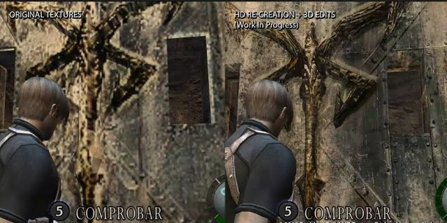 HD Project mod  Of Resident Evil 4 Remakes An Entire Village Level