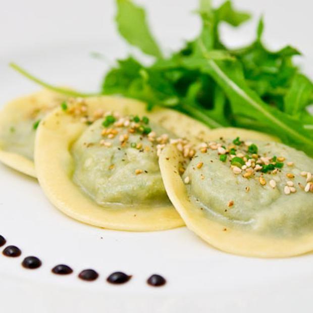 Shiitake And Arugula Ravioli | Foodies Anonymous! | Pinterest