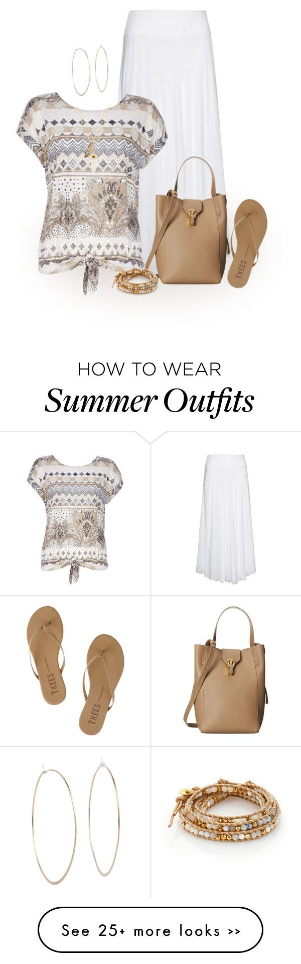 """Where did summer go?"" by terry-tlc on Polyvore featuring Tkees, La Stampa, Wallis, Oscar de la Renta, Michael Kors, Privileged and Chan Luu"