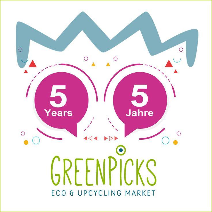 Greenpicks – Eco & Upcycling Market celebrates 5 year anniversary