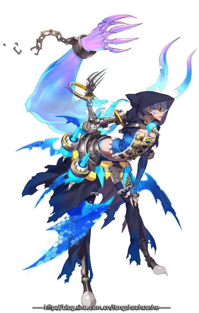 "✧ #characterconcepts ✧ Korea - ""Keeper 2"" character set definition"