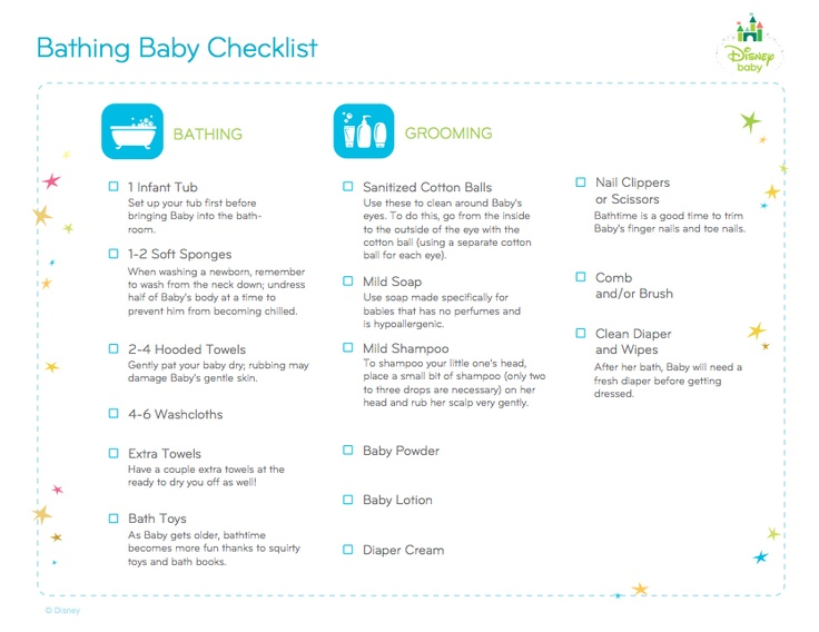 78 best Bathtime images on Pinterest Bath time, Brother and - newborn checklist