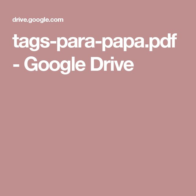 tags-para-papa.pdf - Google Drive