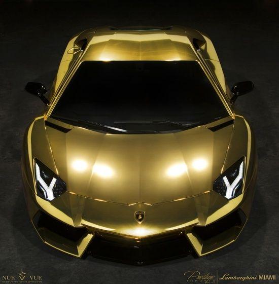 lamborghini aventador au79 covered in gold luxury sports carslamborghini