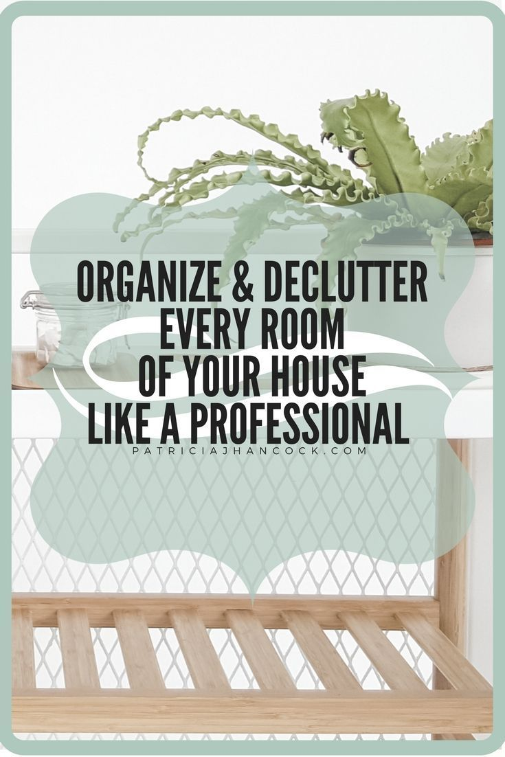 how to clean and organize your room