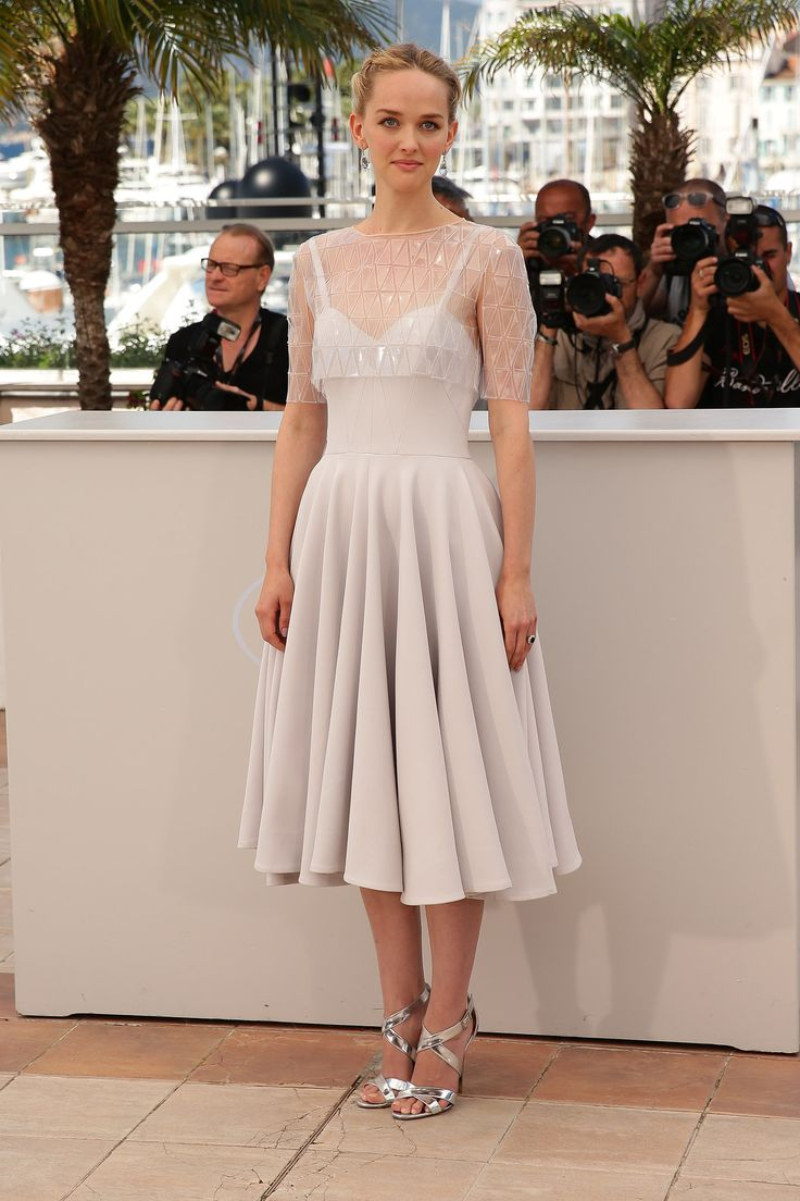 Jess Weixler at a The Disappearance of Eleanor Rigby photocall.