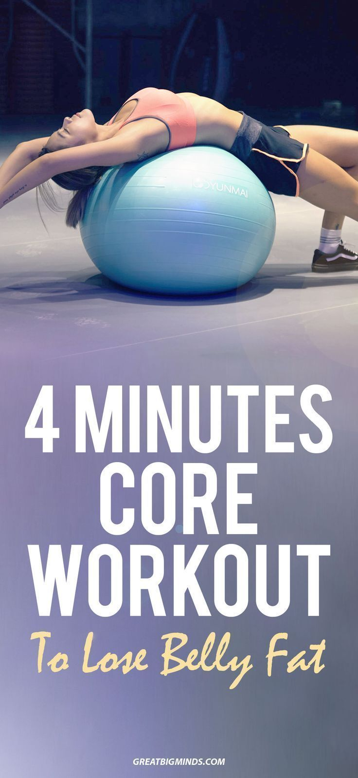 4 Minutes Core Workout To Lose Belly Fat. Looking for effective ways on how to g...